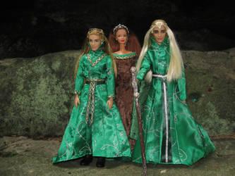 OOAK Mirkwood Royal Family by Menkhar