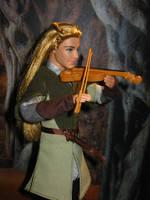 Legolas as violinst by Menkhar