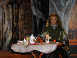 Legolas and his afternoon tea by Menkhar
