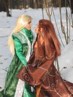 Elven eternal love by Menkhar