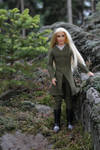 Thranduil in his forest by Menkhar