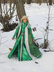 Thranduil in the Winter by Menkhar