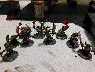 Pathfinder Goblins by 8one6