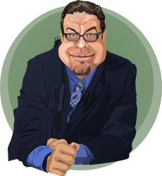 Penn Jillette 01 by NewFoundRetro