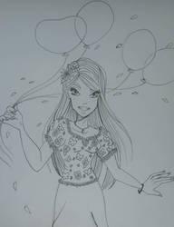 Happy Cornelia by Linnzy