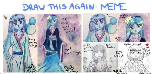 Draw this again meme by Linnzy