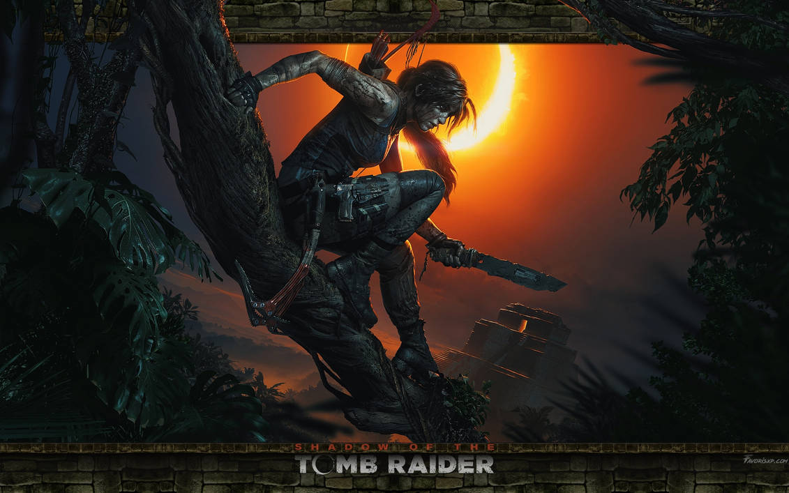Shadow of the Tomb Raider Wallpaper by favorisxp
