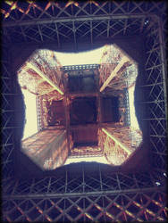 Eiffel Tower - Bottom. by tunichtgut