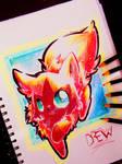 Drew! (Art Trade) by Silver-Artemis-Moon
