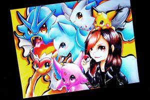 Pokemon Team! by Silver-Artemis-Moon