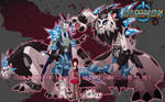 Digimon Reboot - Team Pink by xuza