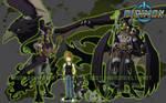 Digimon Reboot - Team Green by xuza