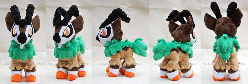 Pokemon Plush - Gogoat by xuza