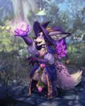 Magic Fox by xuza