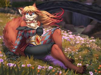 [comm] Wildflowers by xuza