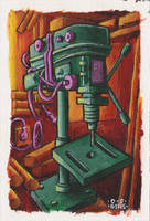 drilling machine by DavidStaege