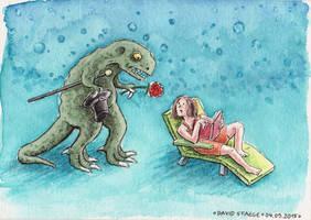 T-Rex by DavidStaege