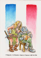 Tribute to France by DavidStaege