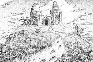 DWDW 15 Ruined Monastery by DavidStaege