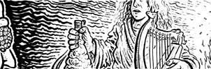 BleakWarrior Page 35 - The Bard by DavidStaege