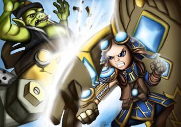 Zojja vs Trade Prince Gallywix by DotWork-Studio