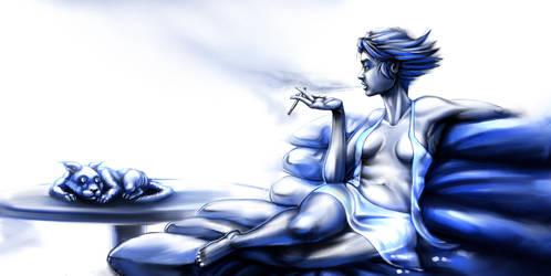 Blue Evening by Polysics
