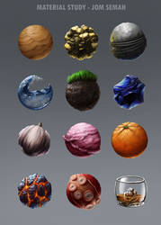 Material Study by Polysics