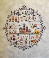 Wacky Witches in Stitches Finish by Mattsma