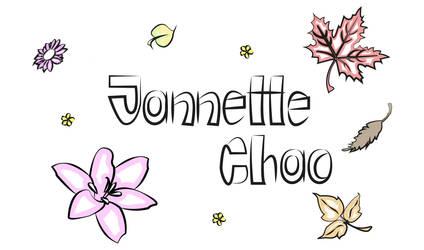 logo2 jannette chao by Paularte