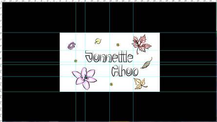 reglas logo jannette chao by Paularte
