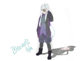 Donut hole by Kanashi-Black