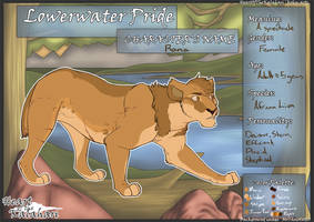 $25 Rana- Full Character Sheet+Design for sale by Howikin
