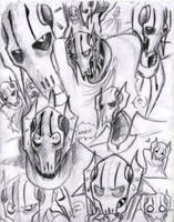 ...Filled with GRIEVOUS sketch by theREDspy