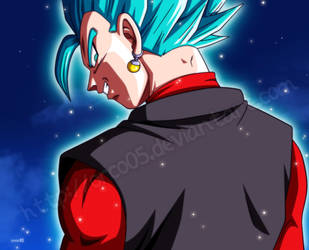 Evil Xeno Vegetto ssj blue by orco05