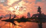 Migratory birds! by FOTOMASTER03