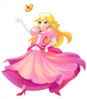 Princess Peach by 25x100