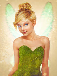 'Real Life' Tinkerbell by JirkaVinse