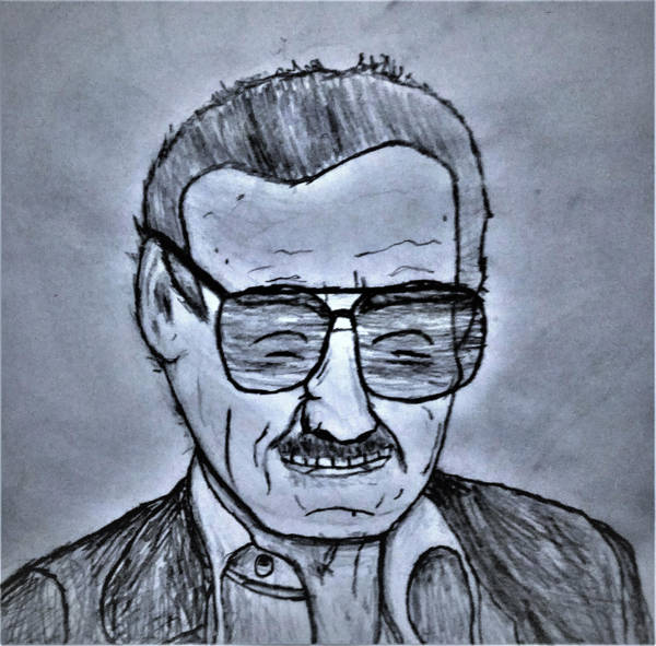Stan Lee (1922-2018) by SuperHyperSonic2000