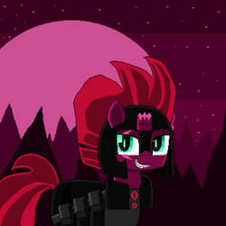 Tempest Shadow as Maelstrom Shade (pixel art) by SuperHyperSonic2000