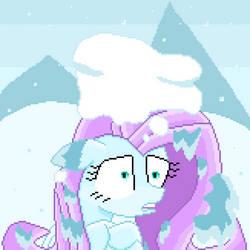Frozenshy (pixel art) by SuperHyperSonic2000