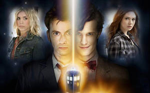 Doctor who- Rose,10,11,Amy by amk445