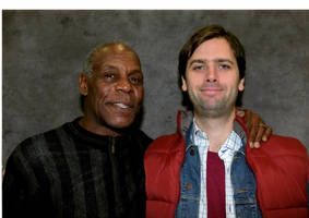 Danny Glover and me by EgonEagle