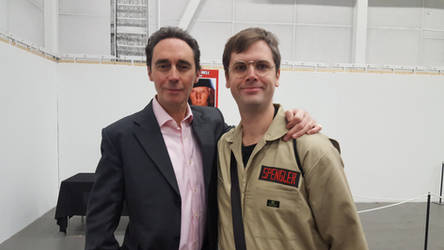 Guy Henry and me by EgonEagle