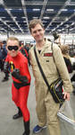 Mr. Incredible and Egon Spengler by EgonEagle