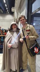 Luke Skywalker and Egon Spengler by EgonEagle