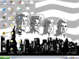 The Real Ghostbusters Desktop by EgonEagle