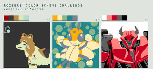Color Scheme Challenge 1 by HachiLock