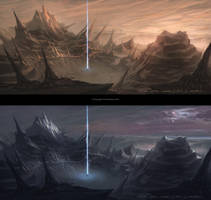 Eden Star Night/Day Lighting Concepts by gavinli