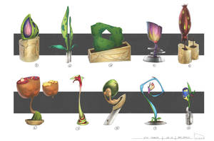 Utopian City Plants by gavinli