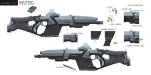 Eden Star Assault Rifle Concept by gavinli